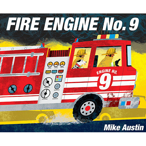 Fire Engine No. 9 - Board Book