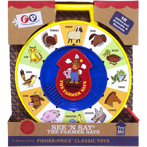 Fisher Price Classic Toys - The Farmer Says See 'N Say