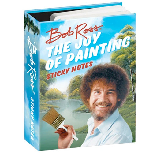 "Bob Ross ""The Joy of Painting"" Sticky Notes"