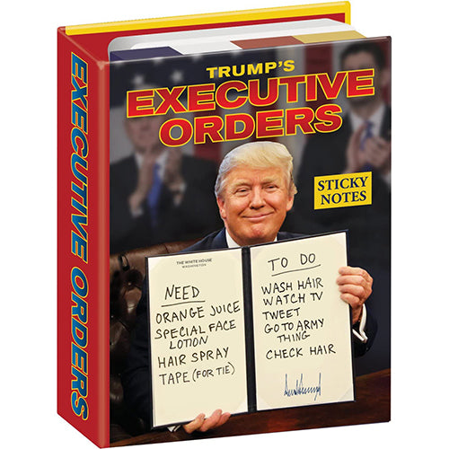Executive Orders Sticky Notes