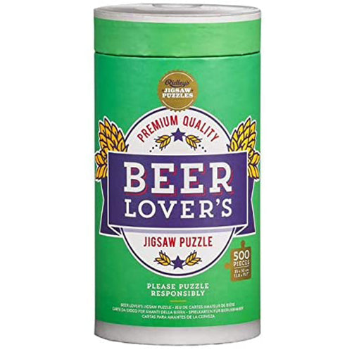 Beer Lover's Jigsaw Puzzle - 500 piece