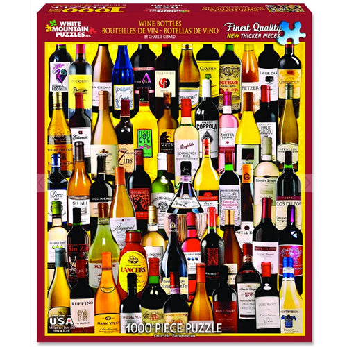 Wine Bottles Puzzle - 1000 piece