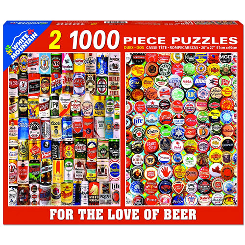 For the Love of Beer Puzzle - 1000 piece