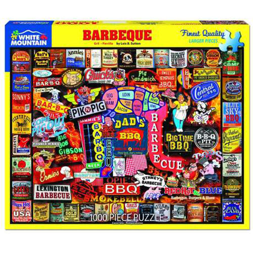 Barbeque Puzzle - 1000 piece