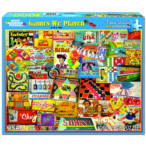 Games We Played Puzzle - 1000 piece