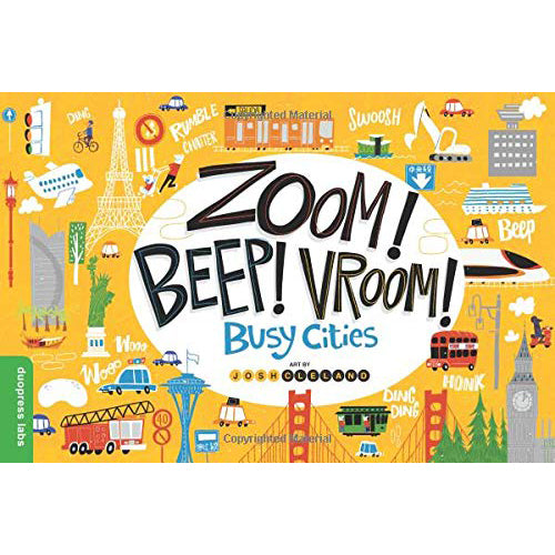 Zoom! Beep! Vroom! Busy Cities - Board Book