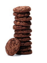 Load image into Gallery viewer, one dozen triple chocolate chunk cookies