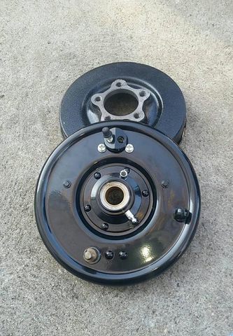 Hydraulic Springer Drum Brake