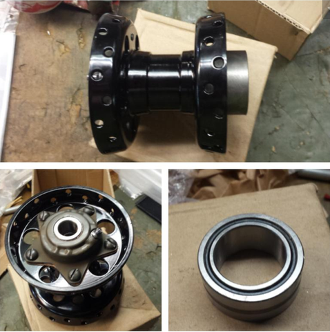 Sealed Bearing Replica Star Hub