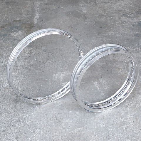 Morad Akront Style High Shouldered Valanced Alloy Rims