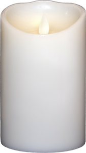 3.5x5 Ivory Moving Flame Candle