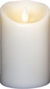 3x4.5 Ivory Moving Flame Candle
