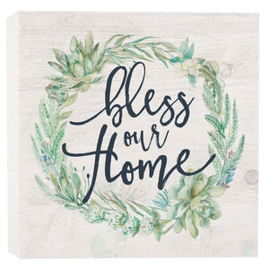 Bless Our Home - Sign