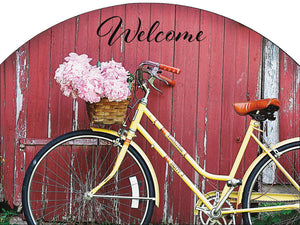 Bicycle Spring - Outdoor Plaque