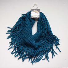 Load image into Gallery viewer, Open Weave Infinity Scarf