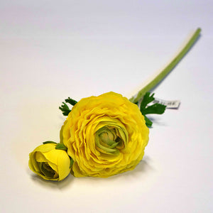 Real Touch Ranunculus Stem