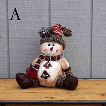 Load image into Gallery viewer, Jolly Sparkle Snowman - Sitting