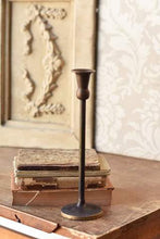 Load image into Gallery viewer, Antique Brass Taper Holder