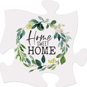 Home Sweet Home - Puzzle Piece Sign