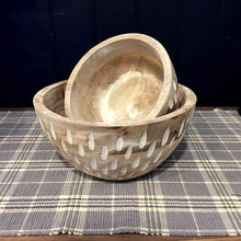 Load image into Gallery viewer, Carved Wood Bowls