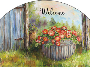 May Flowers - Outdoor Plaque