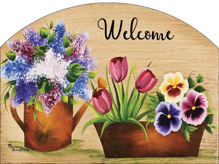 Spring Melody - Outdoor Plaque