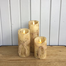 Load image into Gallery viewer, Special Buy | Set of 3 Moving Flame Candles
