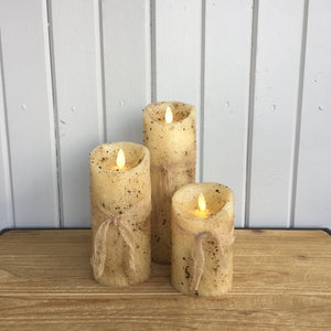 Special Buy | Set of 3 Moving Flame Candles