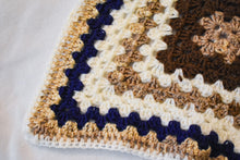 Load image into Gallery viewer, Navy & Brown Cat Mat