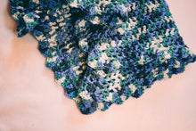 Load image into Gallery viewer, Blue and Teal Gradient Baby Blanket