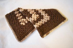 Oversized Brown & Tan Cat Mat