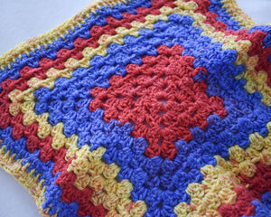 Popping Primary Colors Cat Mat