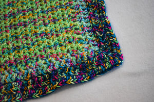 Rainbow Speckle Cat Mat