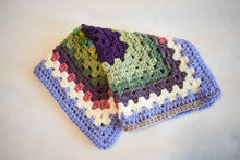 Load image into Gallery viewer, Springtime Patchwork Crochet Cat Mat