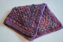 Load image into Gallery viewer, Pink and Purple Jewel Tone Homespun Cat Mat