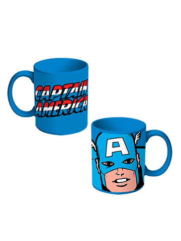 Captain America Coffee Mug - Planet Superhero
