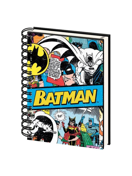 Batman - A5 Spiral-Bound Notebook - Planet Superhero