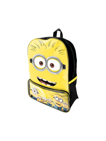 Minion Two Eye Goggle Face Backpack - Planet Superhero