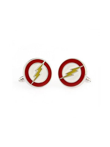 THE FLASH CUFFLINK - Planet Superhero