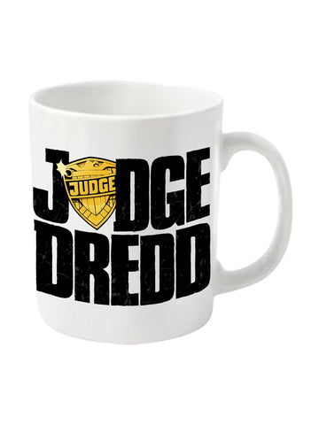 Judge Dredd - 2000AD Dredd badge Mug - Planet Superhero