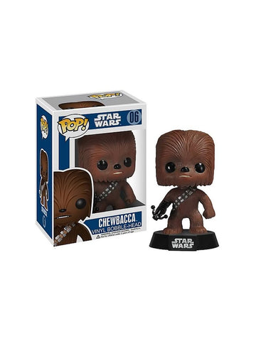Star Wars Chewbacca Pop Vinyl Bobble Figure - Planet Superhero