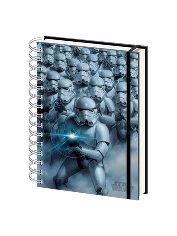 Star Wars Stormtroopers 3D Lenticular A5 Notebook - Planet Superhero