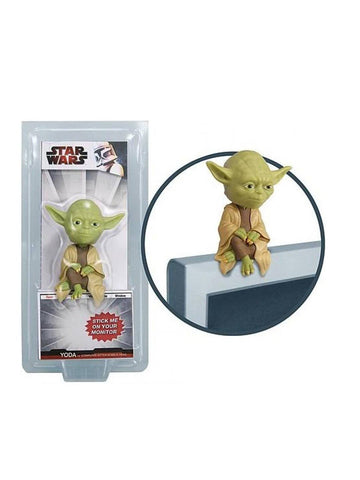 Star Wars Yoda Computer Sitter Bobble Head - Planet Superhero