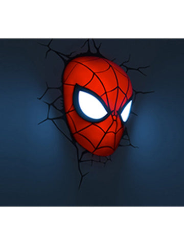 Spiderman Mask 3D light