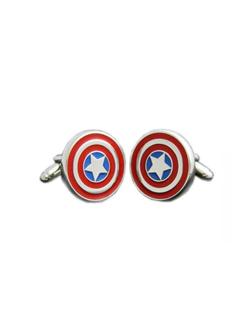 CAPTAIN AMERICA CUFFLINK - Planet Superhero