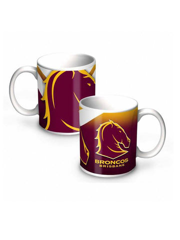 NRL Brisbane Broncos  11oz Ceramic Mug - Planet Superhero