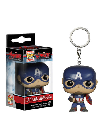 Avengers 2: Age of Ultron - Captain America Pop! Keychain - Planet Superhero