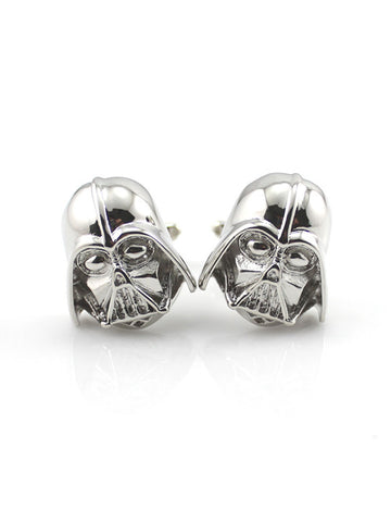 DARTH VADOR CUFFLINK SILVER - Planet Superhero
