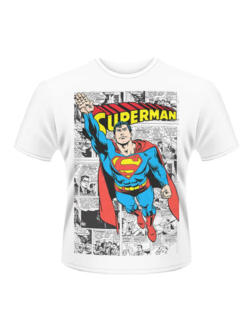 Superman Comic strip T-Shirt - Planet Superhero