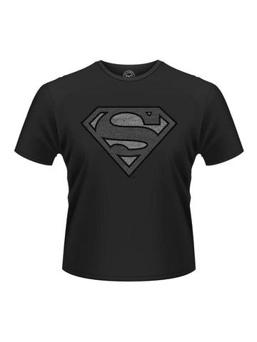 Superman Vintage silver logo T-shirt - Planet Superhero